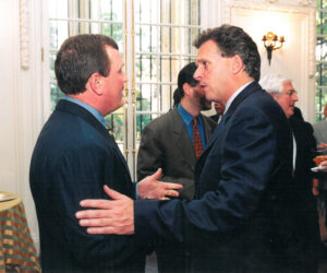 Making a point to Governor McAuliff