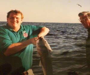 This Governor liked fishing more than golfing.  When in Rome or on the Chesapeake.............