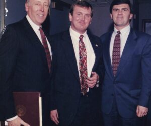House Democratic Whip Steny Hoyer and Governor Bob Ehrlich with Kevin in Annapolis